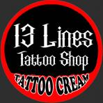 13 lines tattoo shop